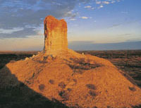 Chambers Pillar Historical Reserve In Northern Territory