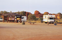 Devils Marbles camp ground